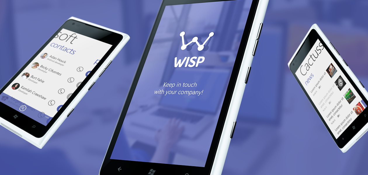 WISP: Теперь и для Windows Phone!
