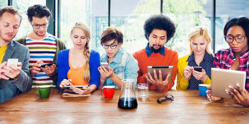 """Millennials have no experience of being without mobile tech."" HR professional on digital HR"